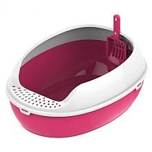 [고양이화장실] 평판형 화장실 - 분홍